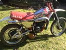 Yamaha YZ80 1978 Early Monoshock version. Rare classic Bike (1978)