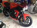 Triumph STREET TRIPLE R Matt Orange Ltd Edition (2009/R)