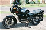 BMW K100RS Black Special Edition Motorsport RS Style (1987/E)