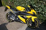 Yamaha YZF-R125 Kenny roberts yellow (2008/08)