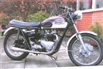 Triumph THUNDERBIRD 650 Trophy look alike (1962)