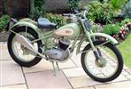 BSA BANTAM TRIALS (1954)