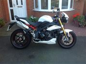 Triumph SPEED TRIPLE 1050 R  (2012/12)