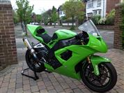 Kawasaki ZX-10R TT Superstock Race Bike (2009)