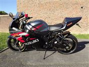 Suzuki GSX-R750 Straight bar conversion (2005/05)