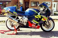 Suzuki GSX-R750 Srad - fuel injection (1998/R)