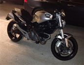 Ducati MONSTER 696 Silver, with ABS (2011/11)