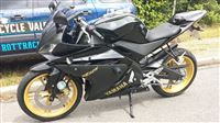 Yamaha YZF-R125 Black & Gold (2010/10)