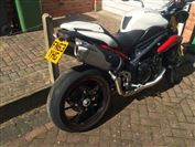 Triumph SPEED TRIPLE 1050 R 2014 model (2013/63)