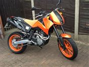KTM 640 DUKE Limited Edition No:238 (2006/56)